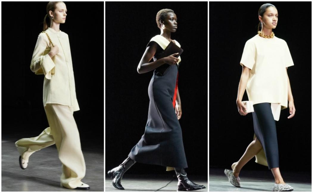 Минимализъм и повече женственост в новата колекция на Jil Sander