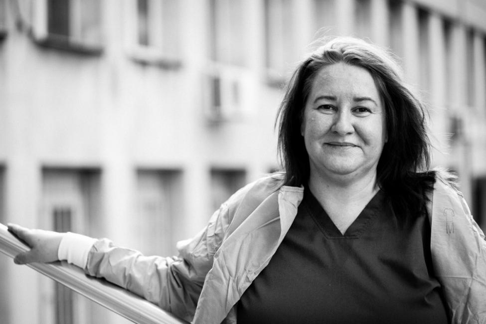 Историята на една медицинска сестра в отделение с Covid-19