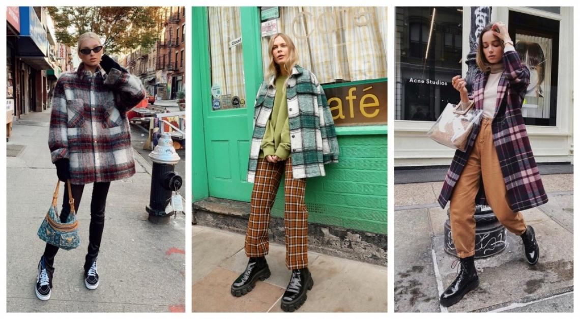 24 стайлинг идеи как да носим модерното каре този сезон