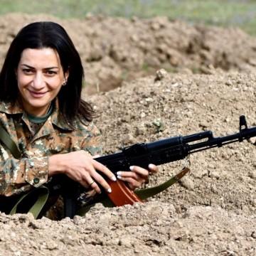 Съпругата на арменския премиер ще воюва в Нагорни Карабах