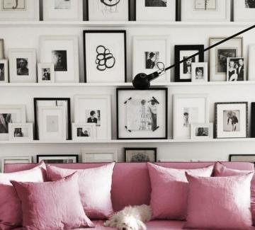 26 идеи, с които да преобразите стените у дома със снимки и илюстрации