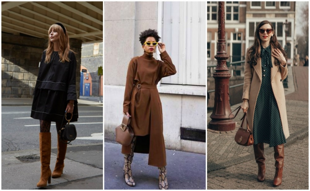 22 стайлинг идеи с роклите, които ще носим през зимата