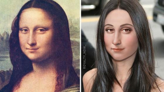 Как биха изглеждали Мона Лиза и Клеопатра днес?