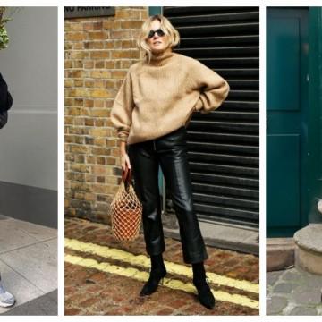 19 стайлинг идеи как да заменим дънките с кожен панталон