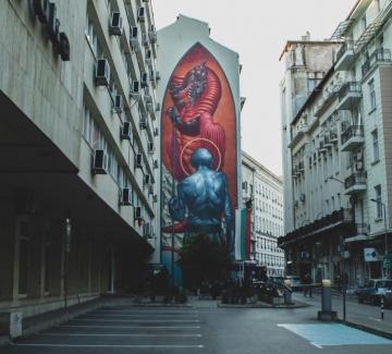 """""""Души в стени"""" – впечатляващите произведения на Urban Creatures"""