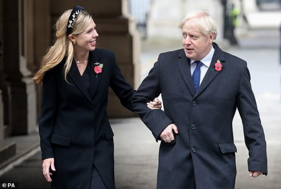 Най-очакваната британска сватба - между Борис Джонсън и Кари Саймъндс