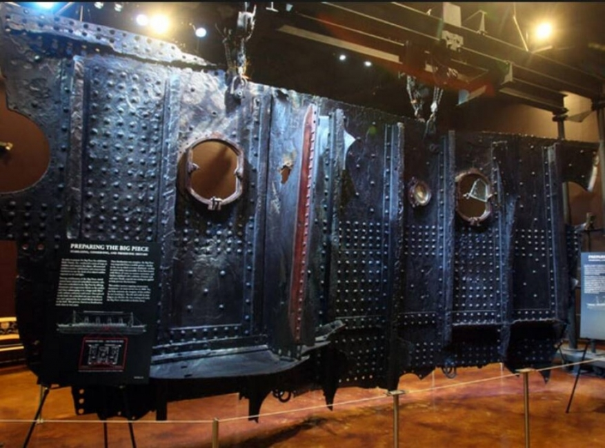"Автентични предмети от ""Титаник"""