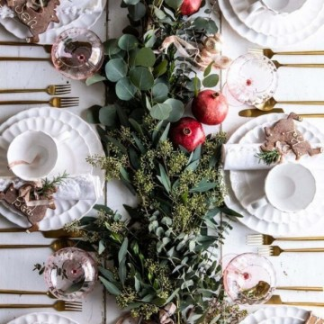 21 идеи за коледна украса от естествени материали