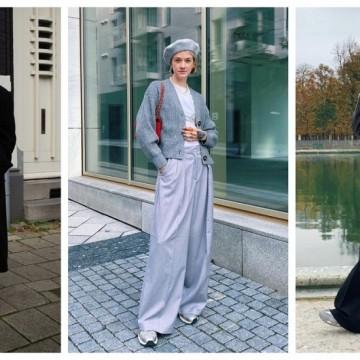 19 стайлинг идеи с широките панталони, които отново са актуални