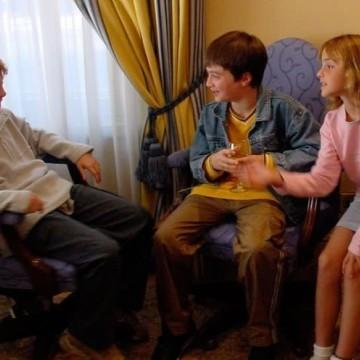 """Зад кадър: Непоказвани снимки от """"Хари Потър"""""""