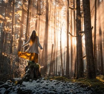 Красотата на природата през очите на едно смело момиче