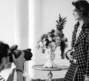 Шарлот Казираги и Chanel с неочакван нов проект