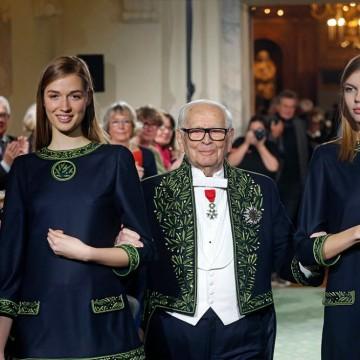 Светът на модата се сбогува с Пиер Карден