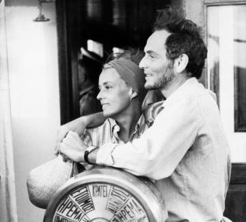 Жана Моро и Пиер Карден – една любов, родена от вдъхновението
