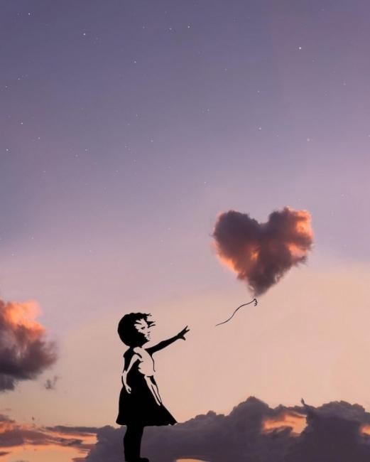 С глава в облаците: вижте изкуството на един мечтател