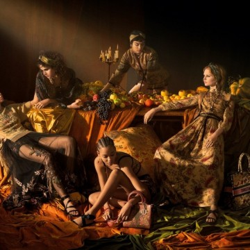 Елина Кешишева засне новата кампания на Dior. Вижте я!