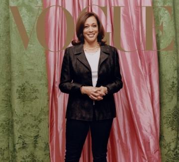 Защо корицата на Vogue с Камала Харис предизвика противоречия?
