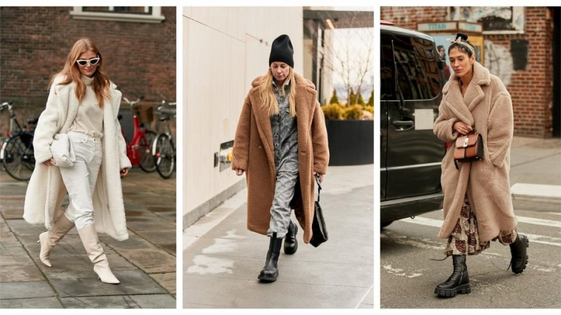 7 начина да носим най-топлото и пухкаво палто