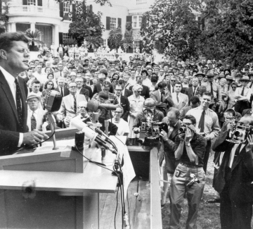 Речта на президента: Кенеди