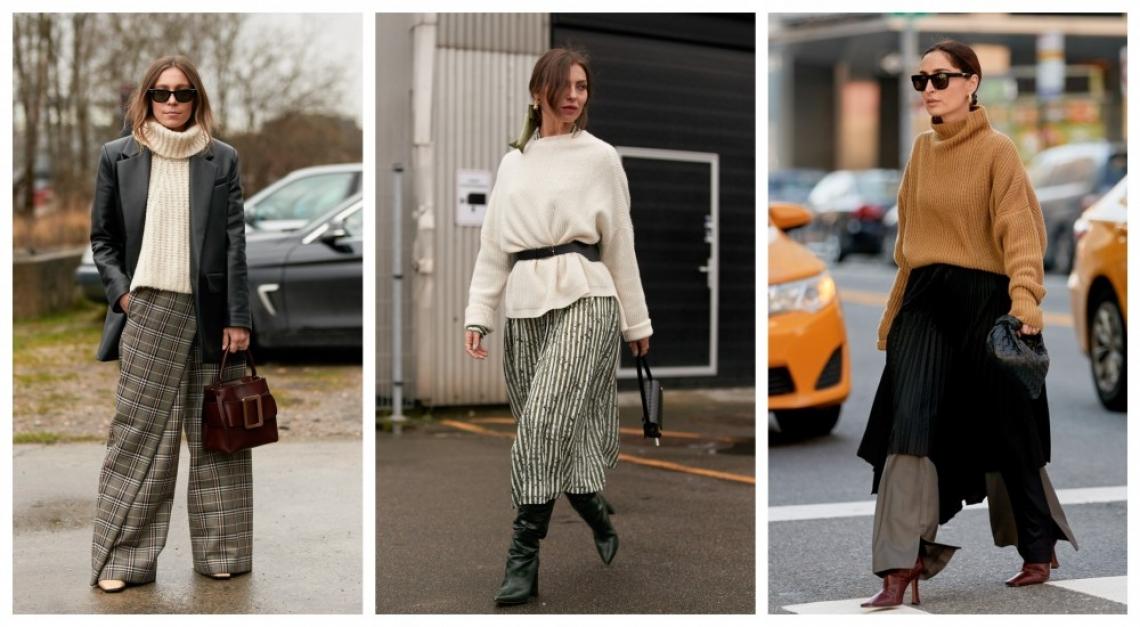 6 идеи как да носим обемния пуловер по най-елегантния начин