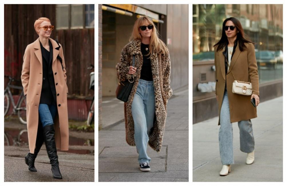 5 стилни вдъхновения с любимата ни комбинация от палто и дънки