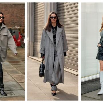 6 стайлинг идеи как да носите сиво в комбинация с черно