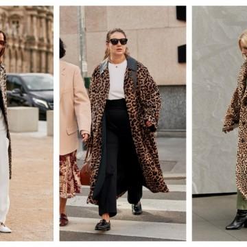 5 идеи как да носим леопардовото палто по-стилно