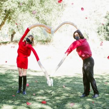 История в снимки: Моят социално дистанциран Св. Валентин