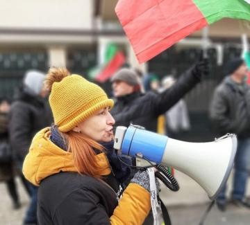 """Майки от """"Системата убива"""" окупираха дома на Бойко Борисов"""