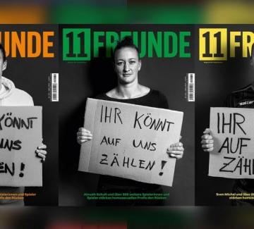 Немски футболисти в подкрепа на ЛГБТИ спортистите