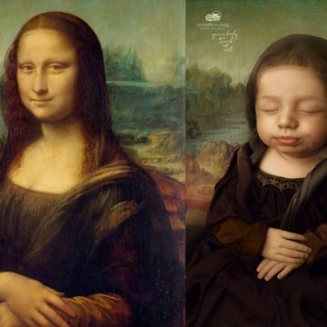 Момиченцето, което се превърна в Мона Лиза