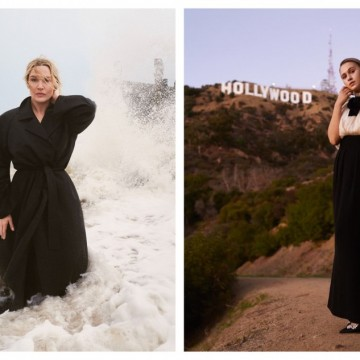 Мария Бакалова, Кейт Уинслет и още 25 звезди във фотосесия за Vogue