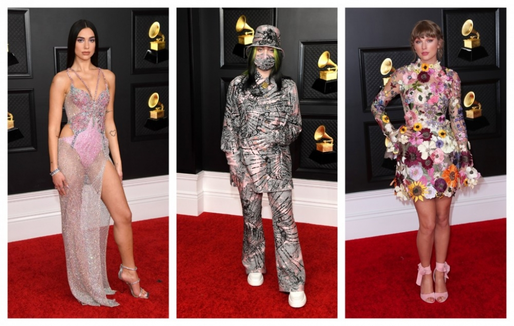 """Кой какво облече на наградите """"Грами"""" тази година?"""
