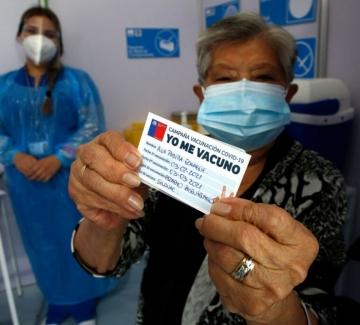 Чили – новият първенец по ваксиниране