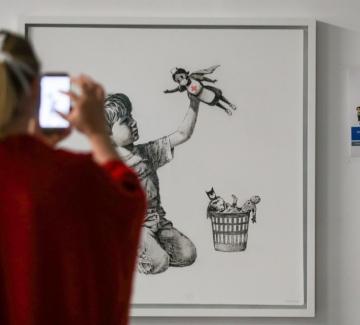 Още една картина на Банкси е продадена за рекордна сума