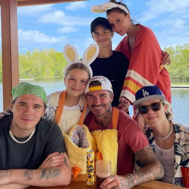 Звездите и техният семеен Великден