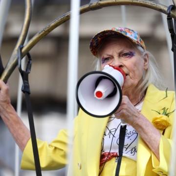 Вивиан Уестууд на 80 - вечната бунтарка