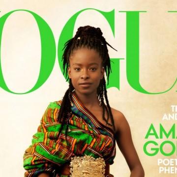 Аманда Горман на корицата на Vogue: момичето, което мечтае да стане президент