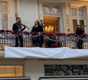 """""""Музика от балкона"""" с нов концерт в София"""