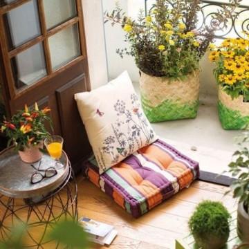 21 идеи как да направите малката тераса по-уютна