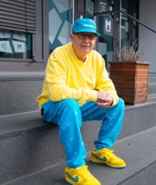 75-годишният дядо, който покори Инстаграм