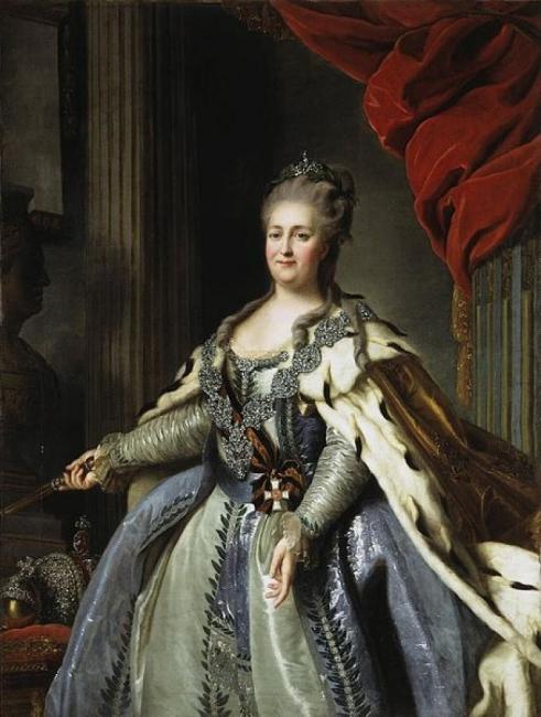 Екатерина, първата императрица на Русия