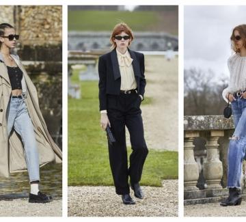 16 стайлинг идеи от новата колекция на Celine, вдъхновена от французойките