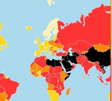 С пункт надолу: България е на 112 място по свобода на словото