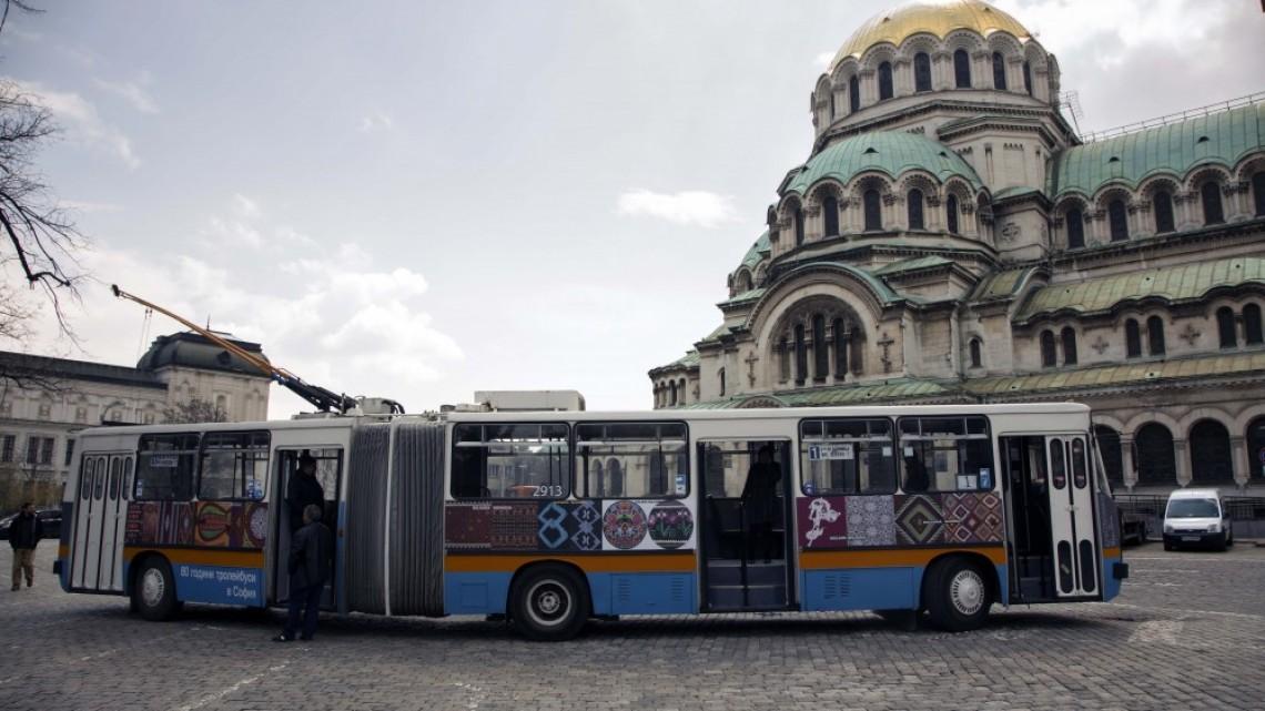 Галерия на колела - тролей показва културното наследство на 21 страни в София
