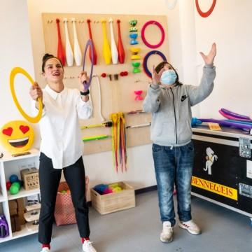 Нова находка в града: Мини Арт Център за циркови тренировки