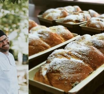 """Пекарната, която отново дарява """"висящи козунаци"""""""
