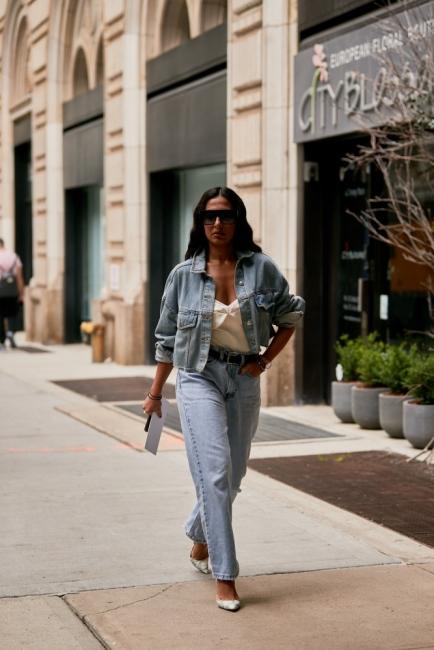 9 стайлинг идеи как да носим деним с деним