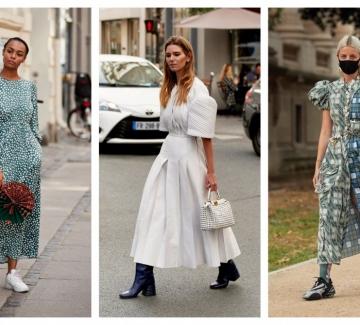 10 миди рокли, които не спираме да носим този сезон