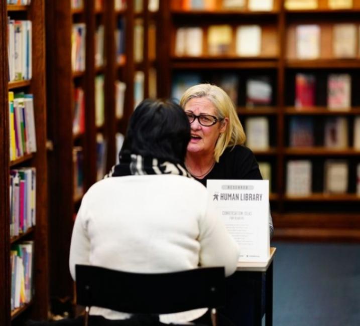 Библиотеката, в която не четем книги, а... хора!